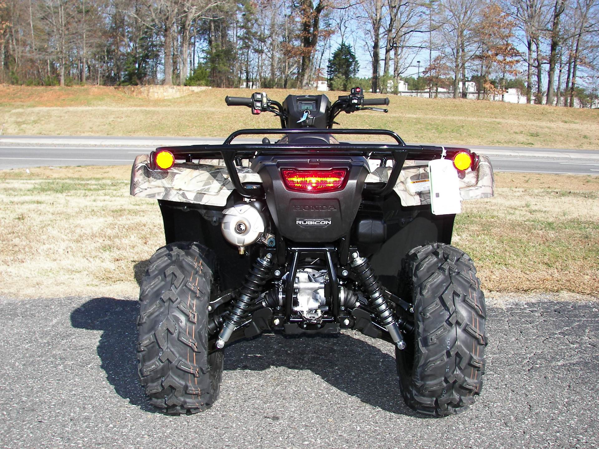 2020 Honda FourTrax Foreman Rubicon 4x4 Automatic DCT EPS Deluxe in Shelby, North Carolina - Photo 6