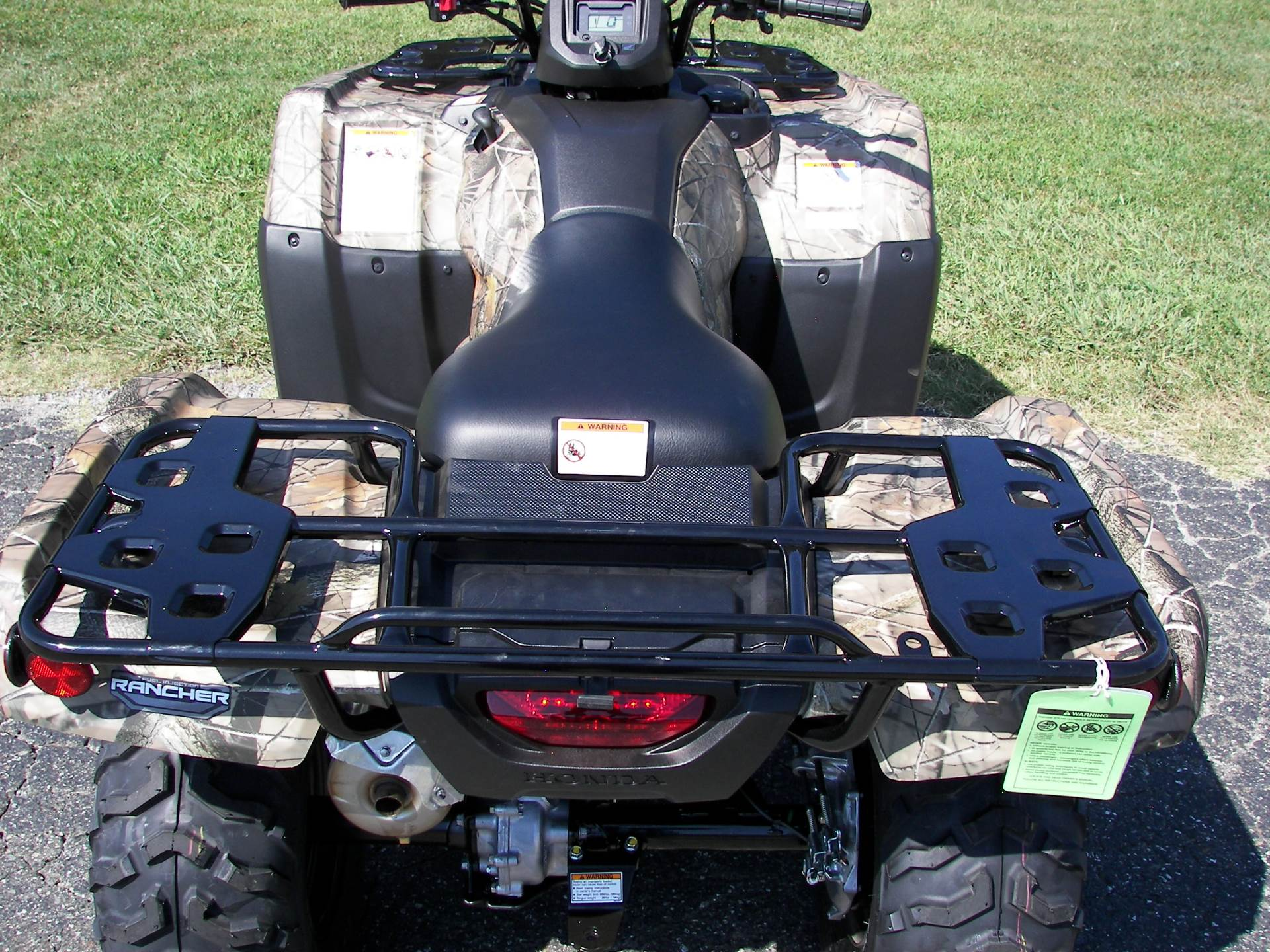 2020 Honda FourTrax Rancher 4x4 in Shelby, North Carolina - Photo 8