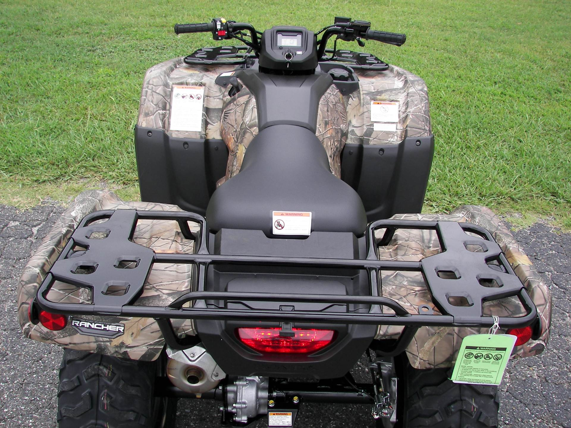 2020 Honda FourTrax Rancher 4x4 EPS in Shelby, North Carolina - Photo 8