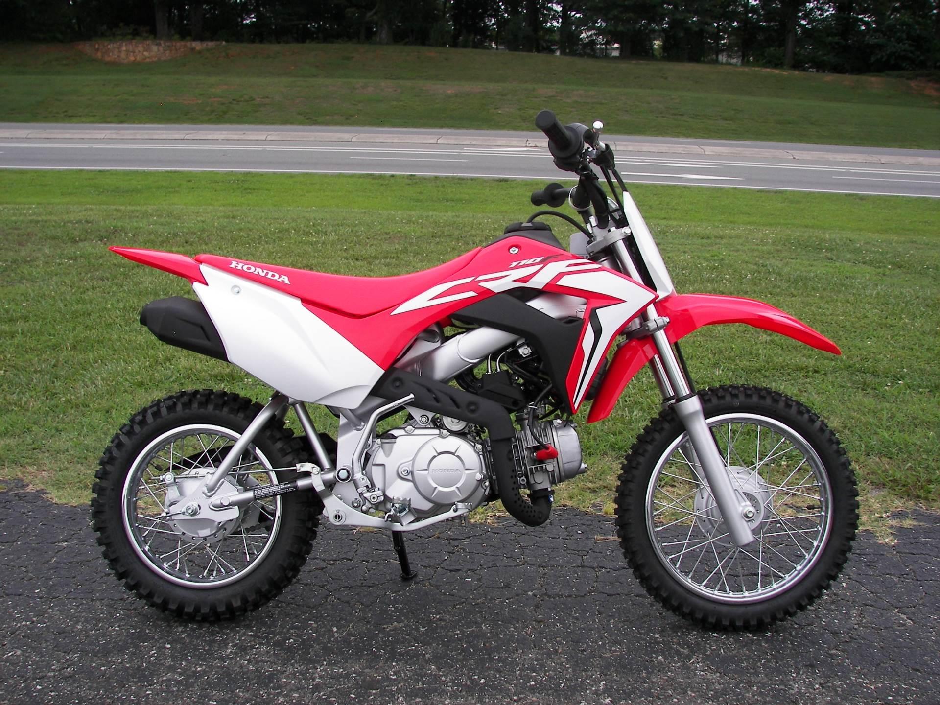 2020 Honda CRF110F in Shelby, North Carolina