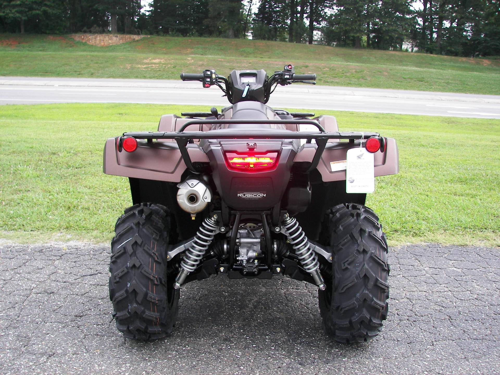 2021 Honda FourTrax Foreman Rubicon 4x4 Automatic DCT EPS Deluxe in Shelby, North Carolina - Photo 8
