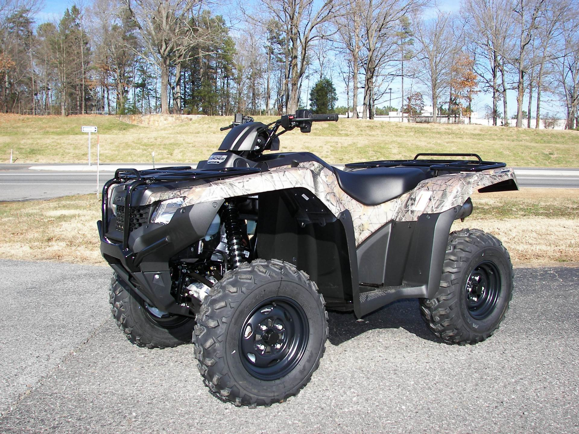 2017 Honda FourTrax Rancher 4x4 DCT IRS EPS in Shelby, North Carolina