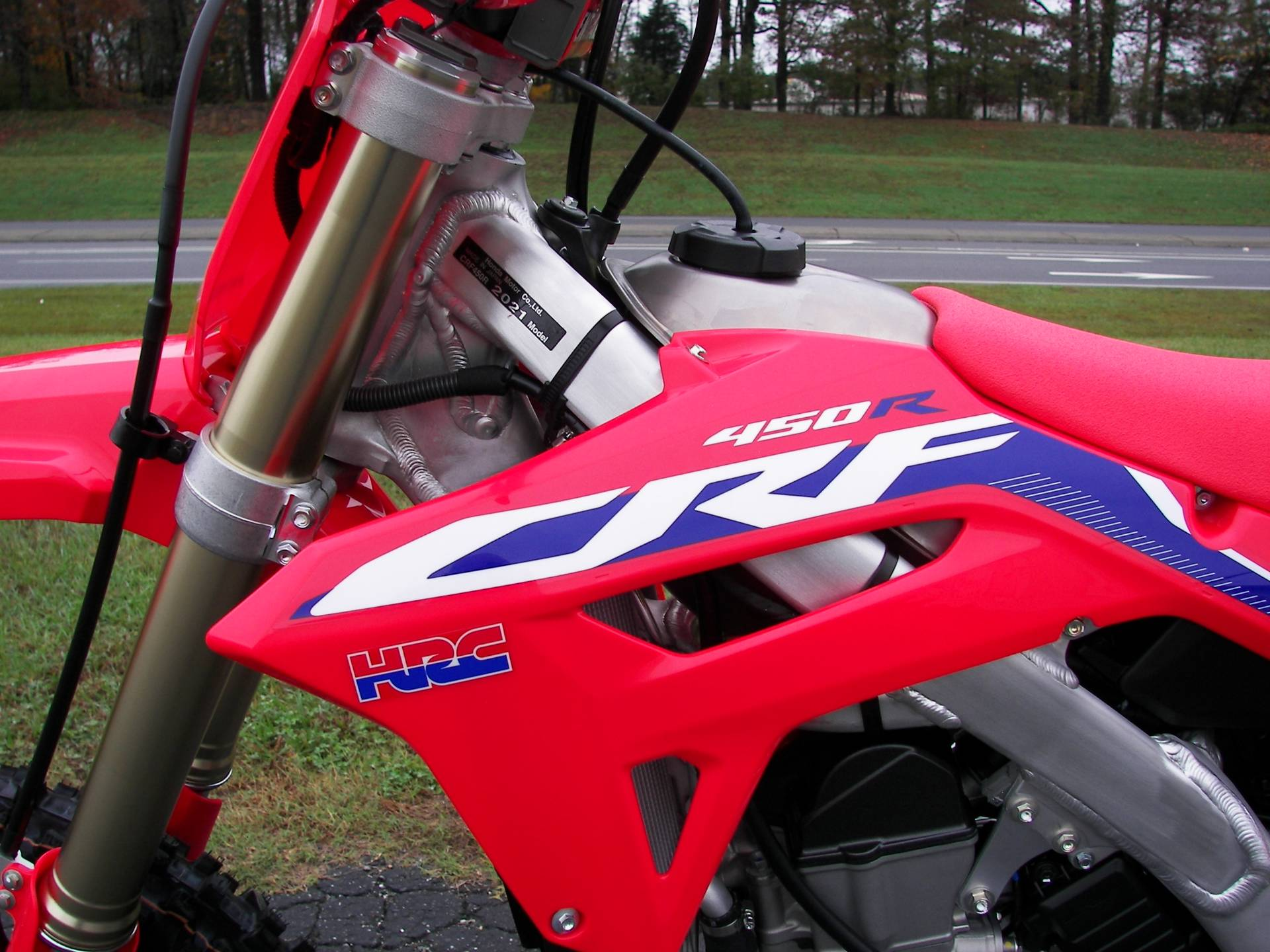 2021 Honda CRF450R in Shelby, North Carolina - Photo 7