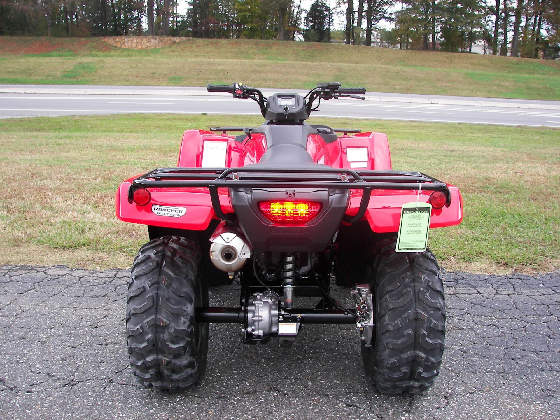 2019 Honda FourTrax Rancher 4x4 in Shelby, North Carolina - Photo 6