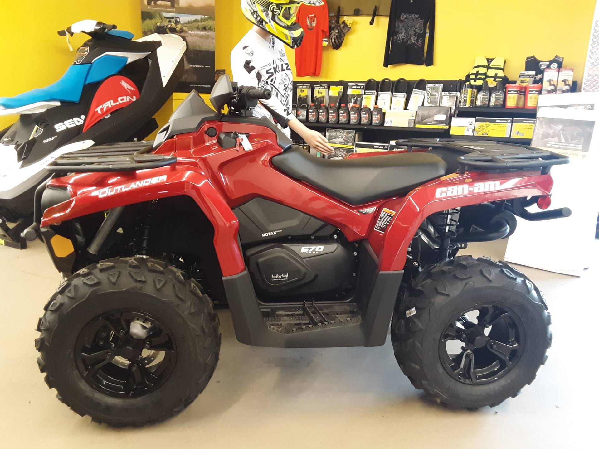 2019 Can-Am Outlander XT 570 in Harrisburg, Illinois - Photo 1