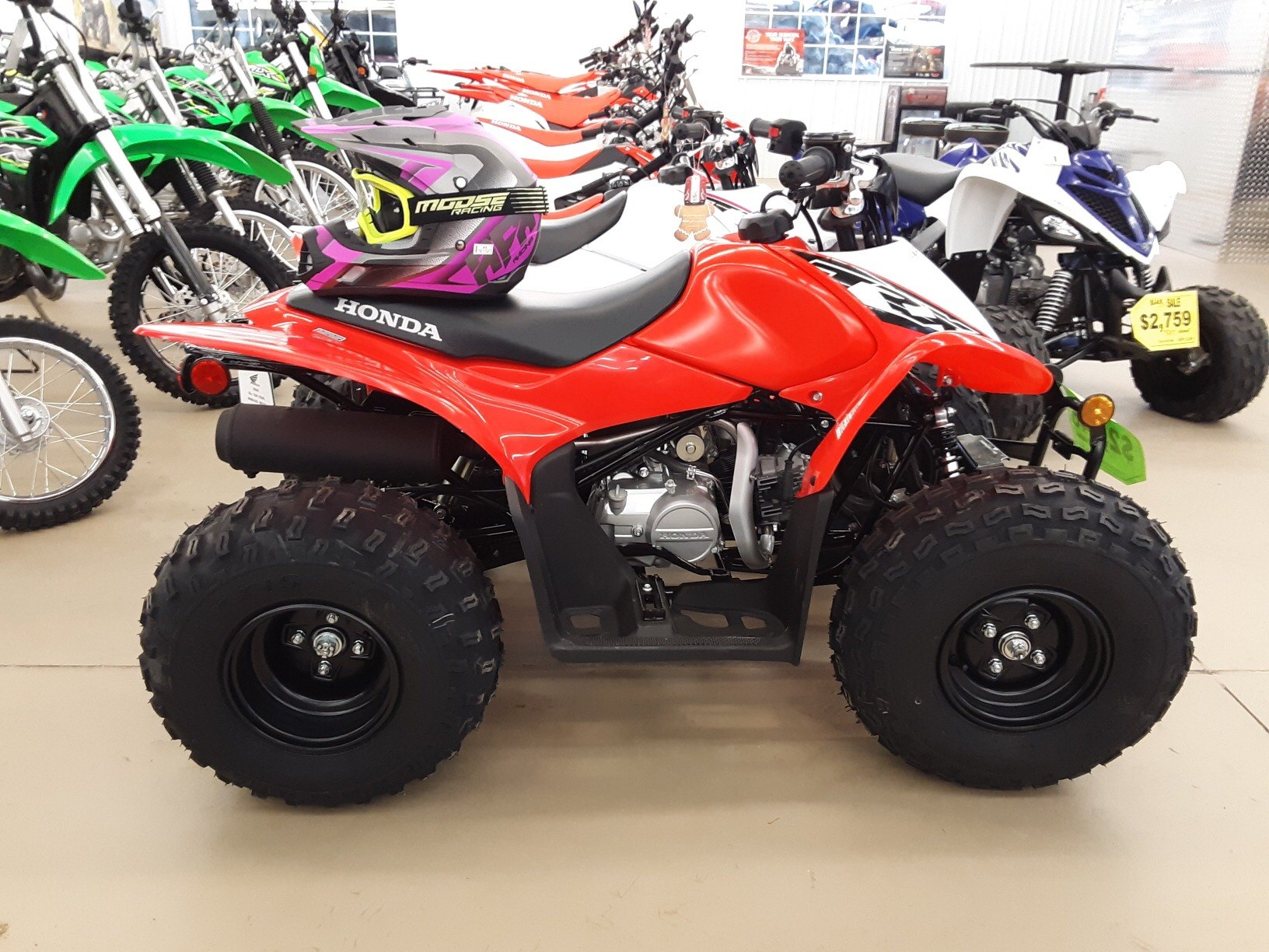 2019 Honda TRX90X in Harrisburg, Illinois