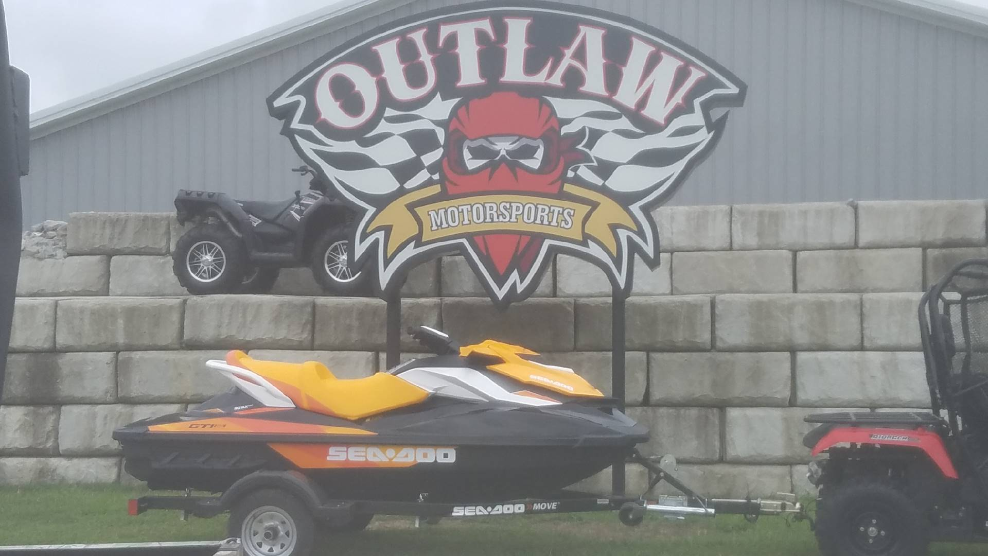 2018 SEA DOO GTI SE 90 in Harrisburg, Illinois