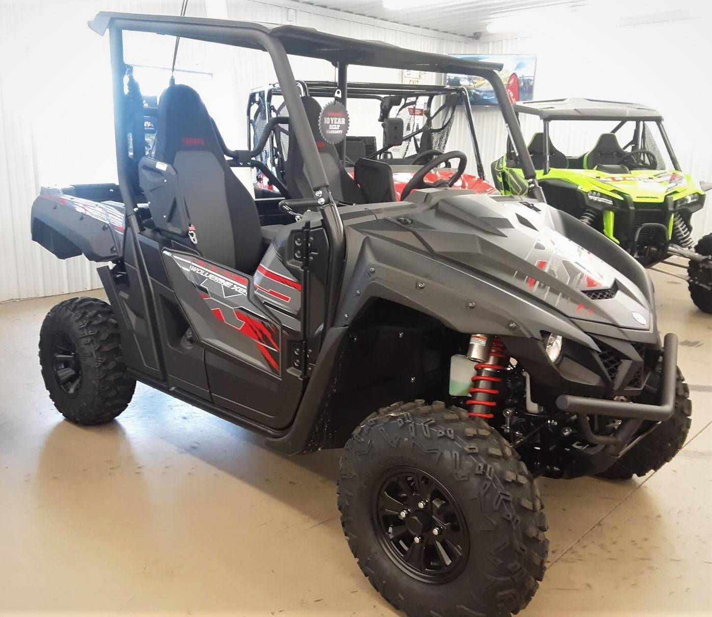 2019 Yamaha Wolverine X2 R-Spec SE in Harrisburg, Illinois