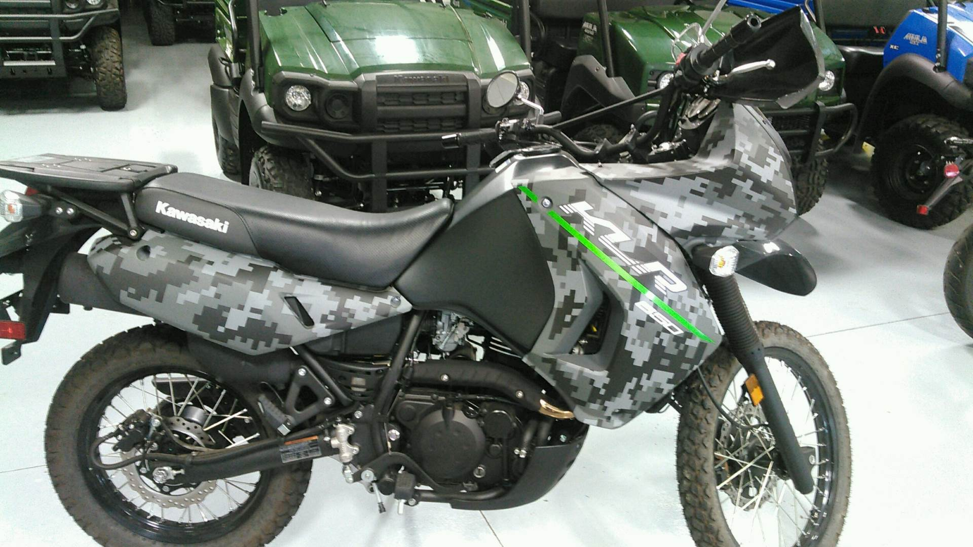 2017 Kawasaki KLR650 in Harrisburg, Illinois