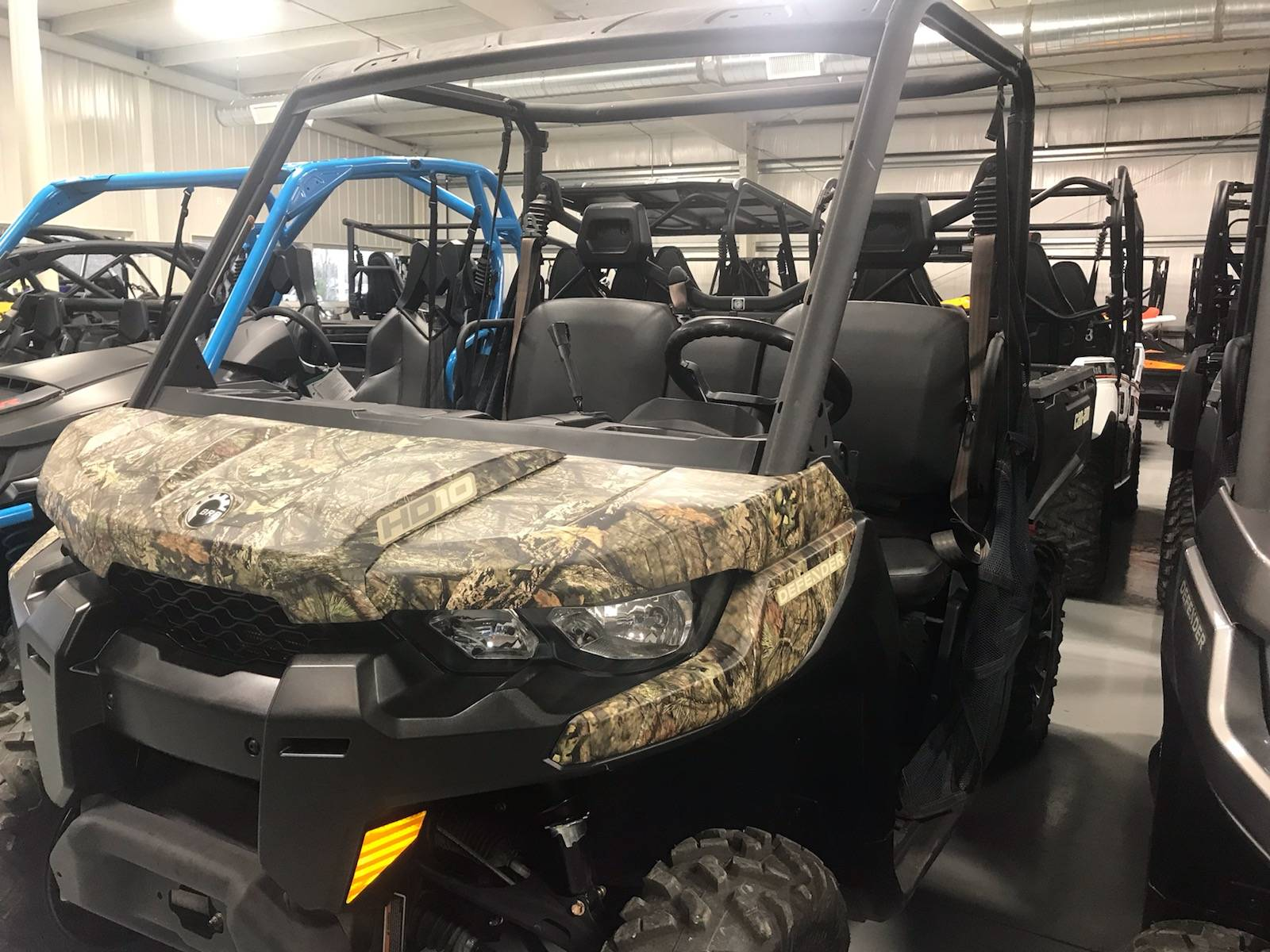 2017 Can-Am Defender DPS HD10 in Harrisburg, Illinois