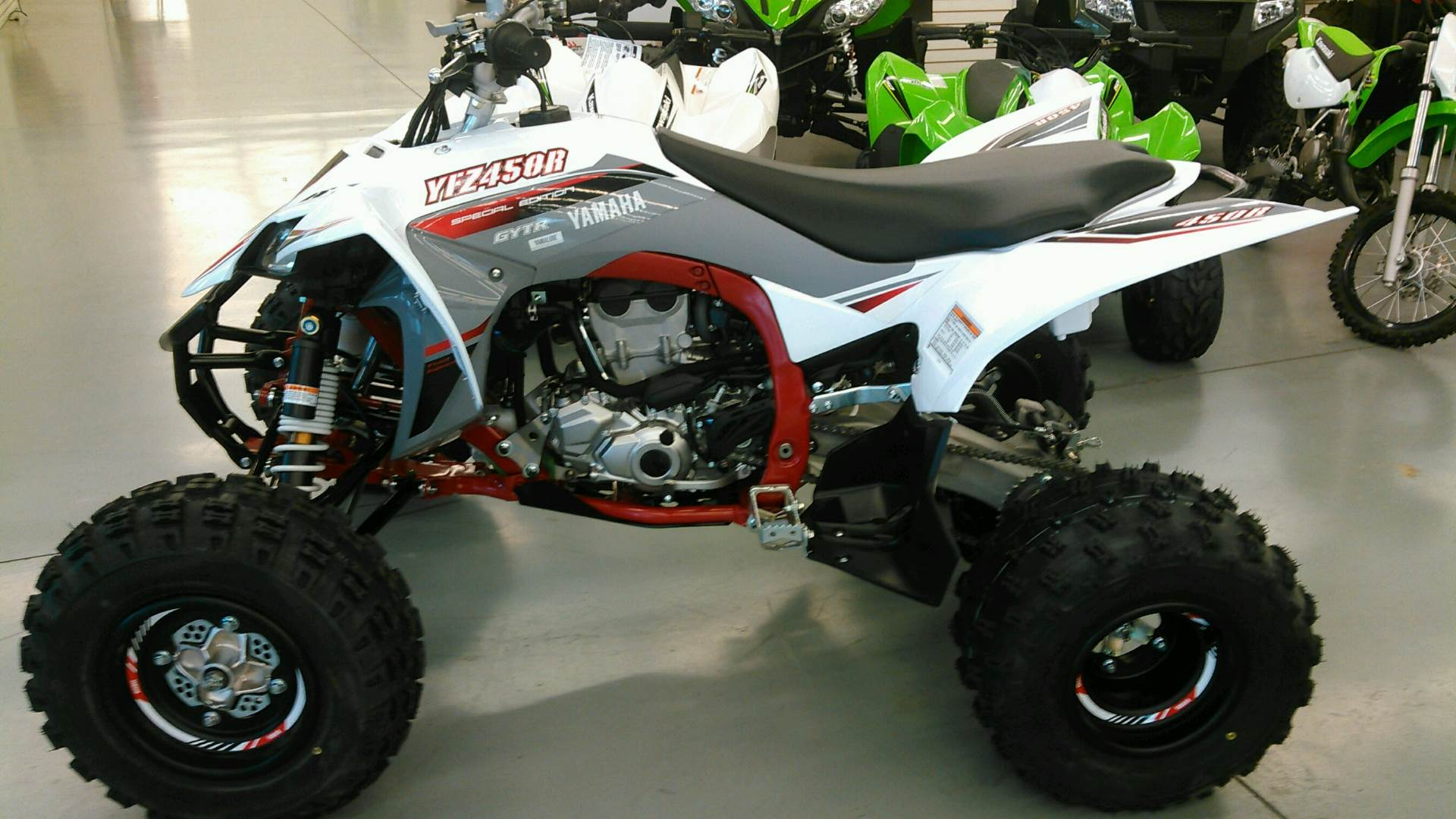 2018 Yamaha YFZ450R SE in Harrisburg, Illinois