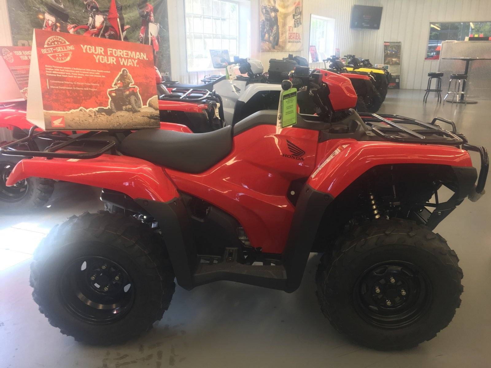 2018 Honda FourTrax Foreman Rubicon 4x4 Automatic DCT EPS in Harrisburg, Illinois
