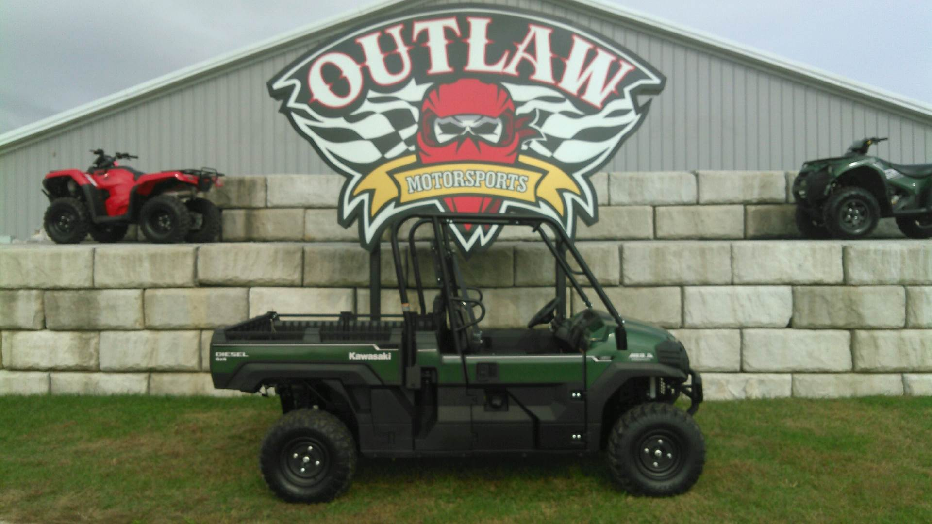 2017 Kawasaki Mule PRO-DX EPS Diesel in Harrisburg, Illinois