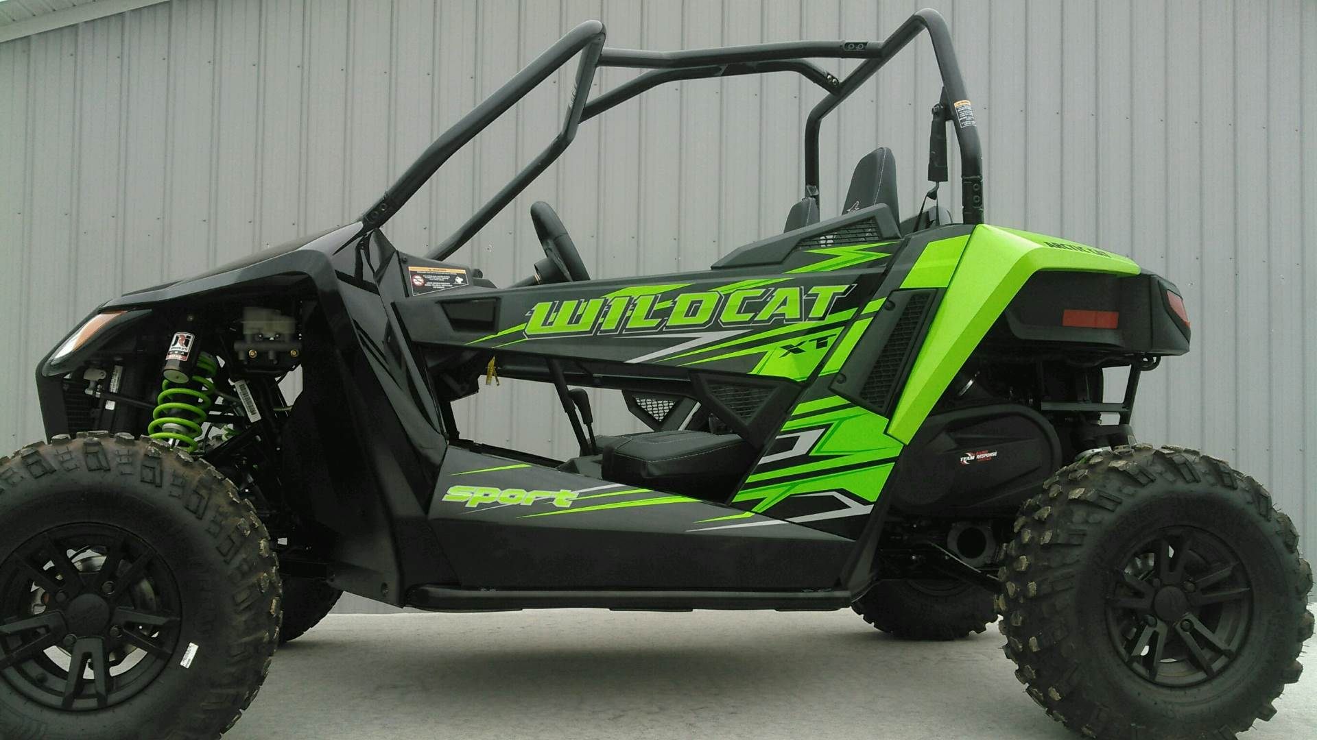 2017 Arctic Cat Wildcat Sport XT EPS in Harrisburg, Illinois