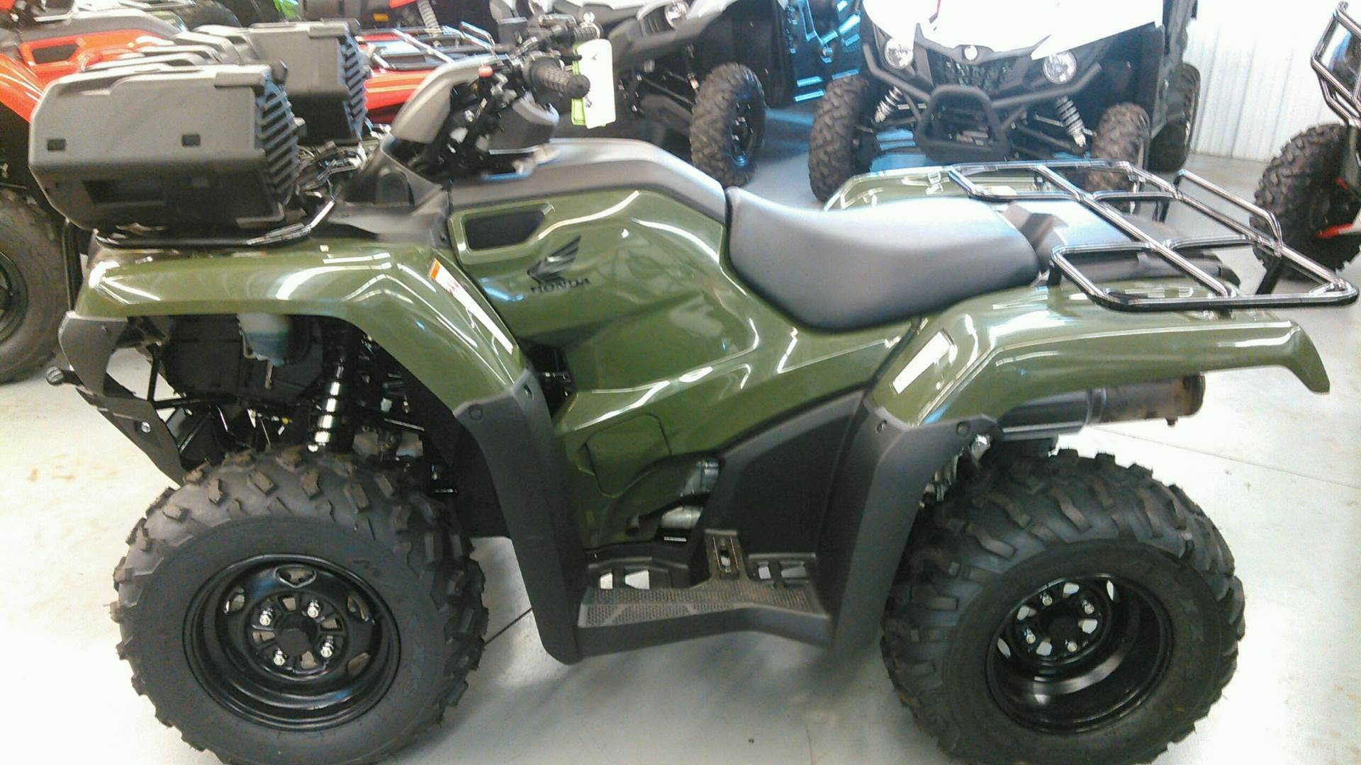 2017 Honda FourTrax Rancher in Harrisburg, Illinois