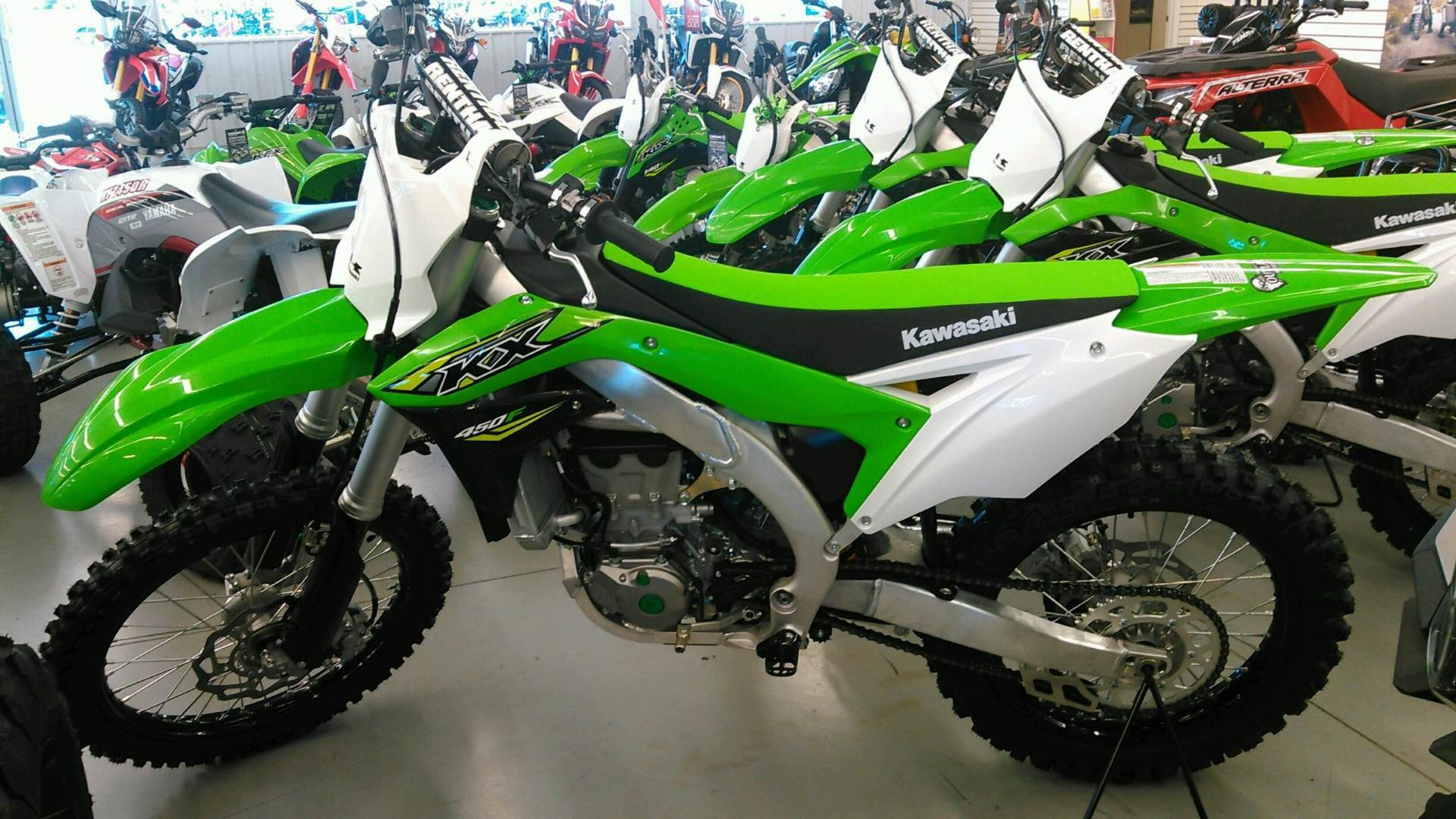 2018 Kawasaki KX 450F in Harrisburg, Illinois