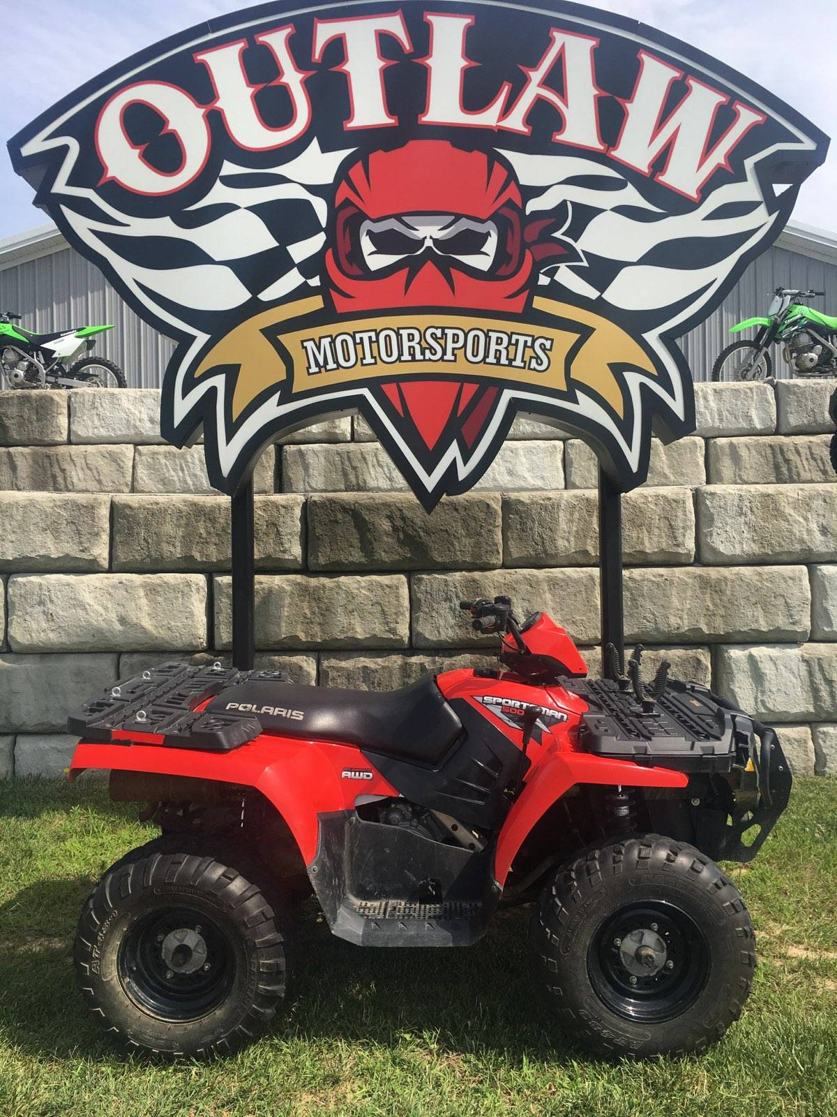 2010 Polaris SPORTSMAN 500 in Harrisburg, Illinois