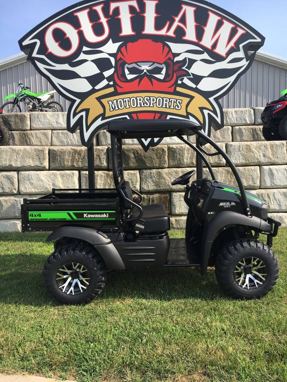 2018 Kawasaki kaf400mjf in Harrisburg, Illinois
