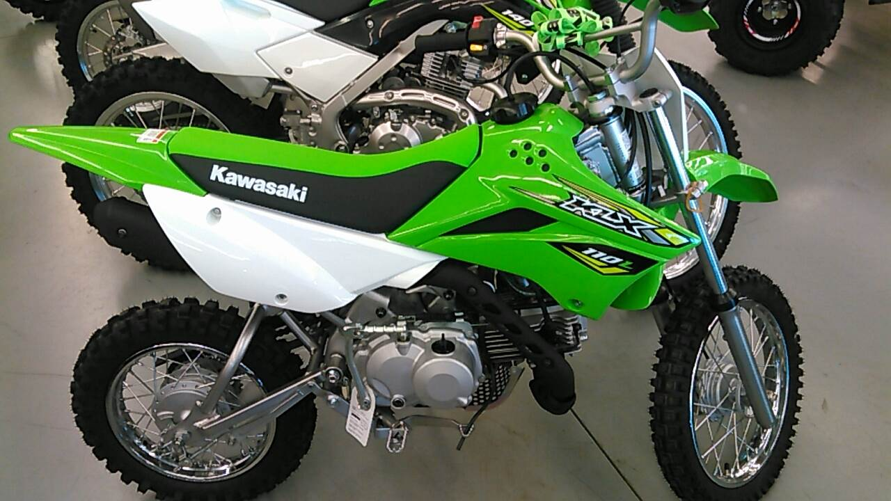 2018 Kawasaki KLX 110L in Harrisburg, Illinois