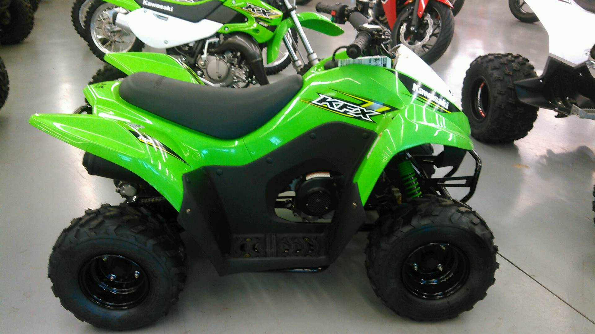 2017 Kawasaki KFX50 in Harrisburg, Illinois