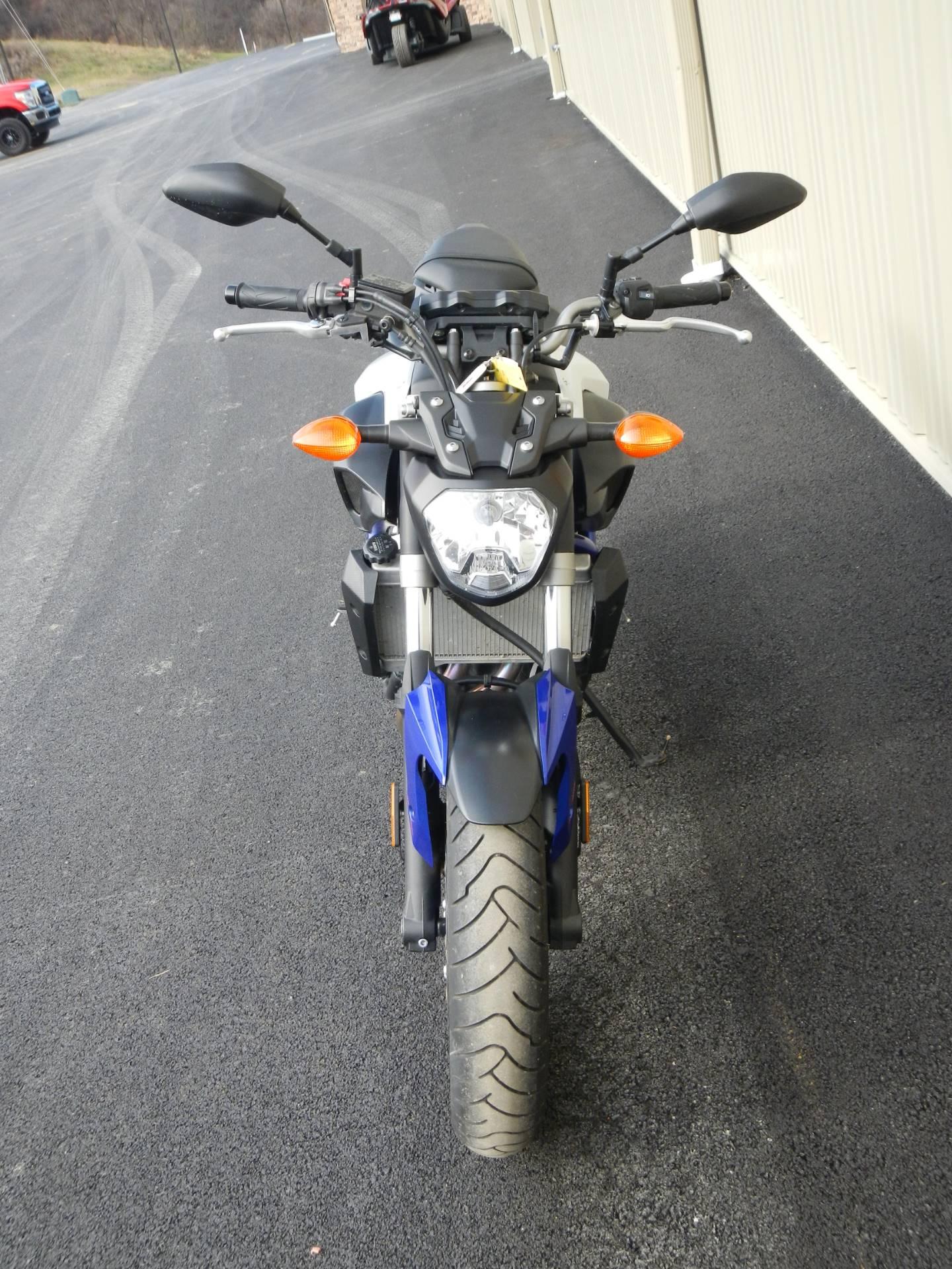 2016 Yamaha FZ-07 7