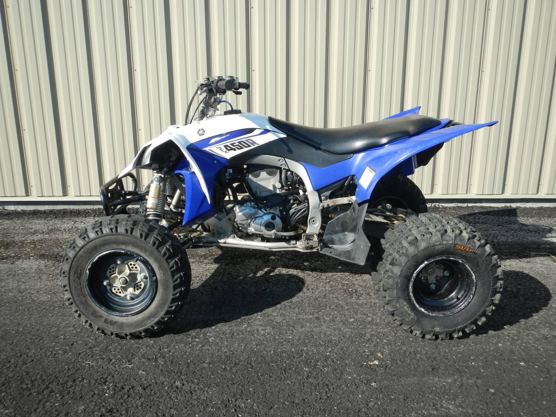 2014 Yamaha YFZ450R 4