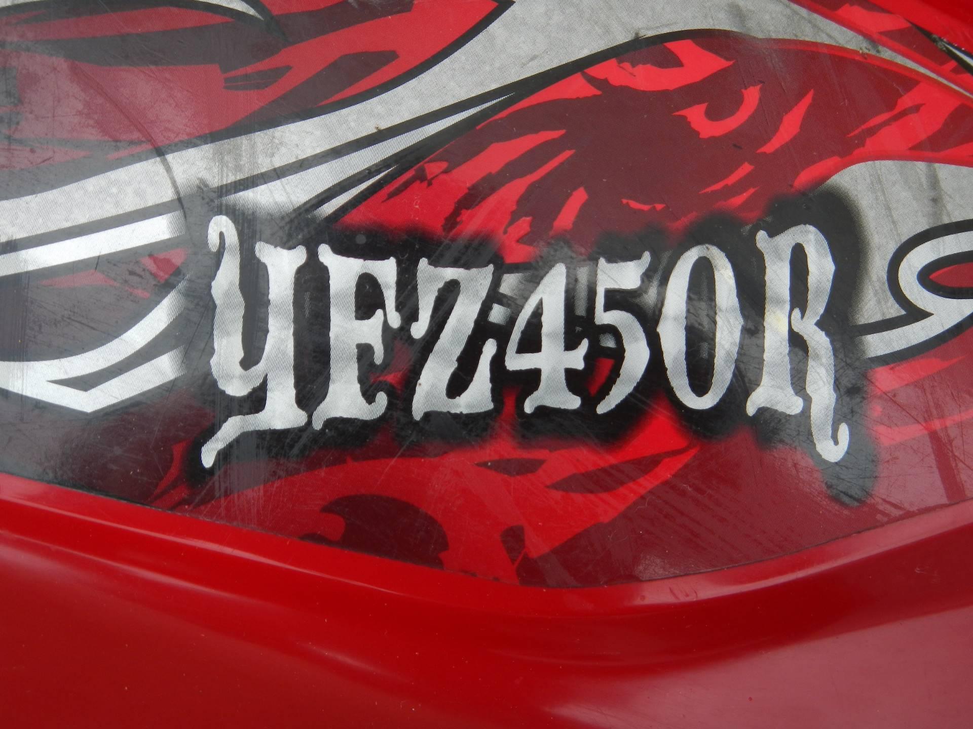 2014 Yamaha YFZ450R SE 10