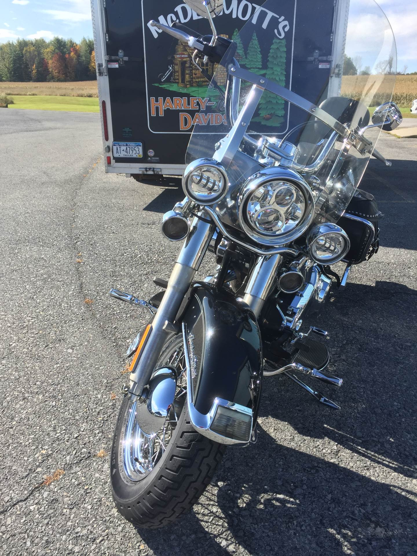 2007 Harley-Davidson Heritage Softail Classic in Fort Ann, New York - Photo 2