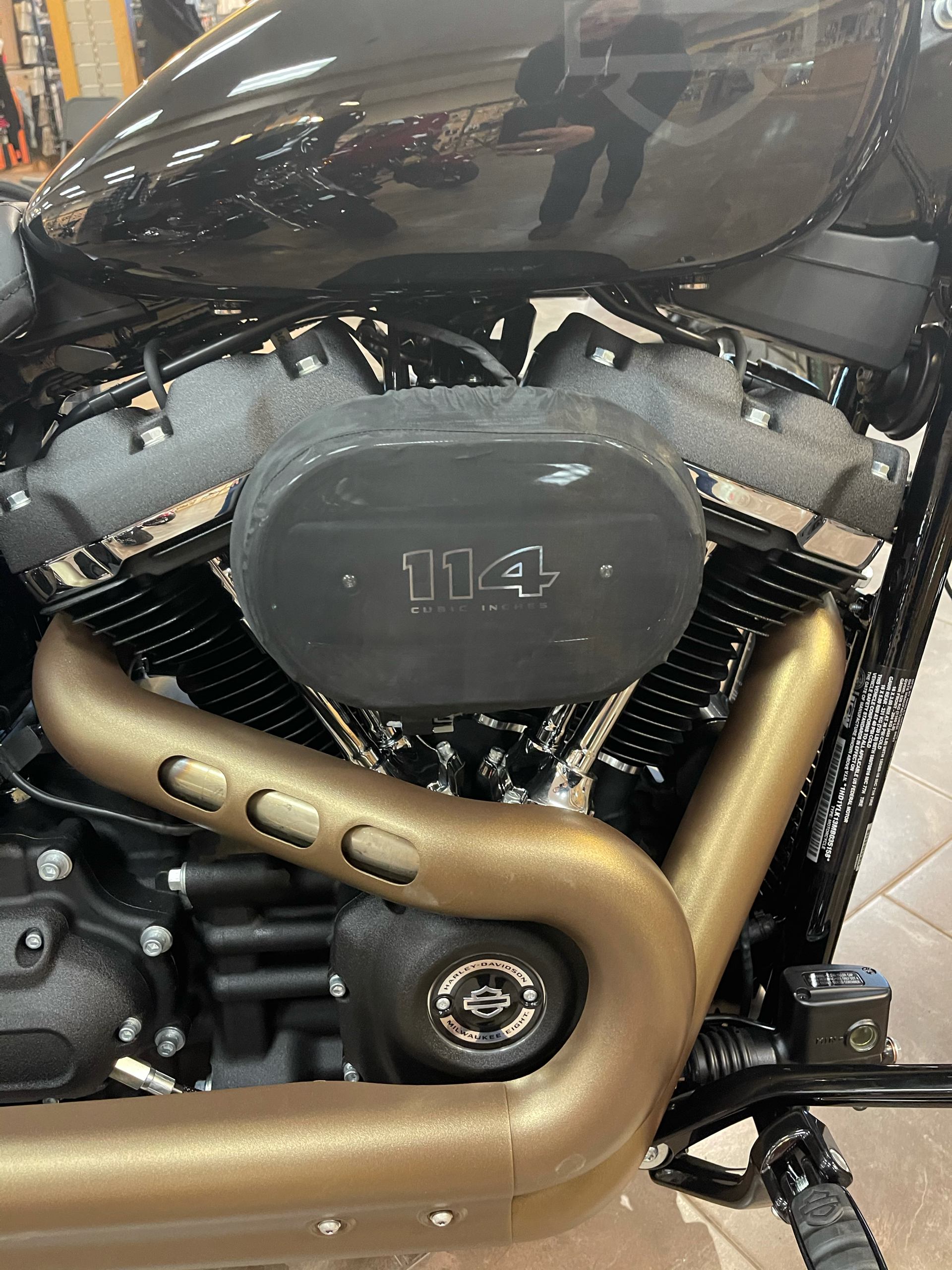 2021 Harley-Davidson Fat Bob® 114 in Fort Ann, New York - Photo 2