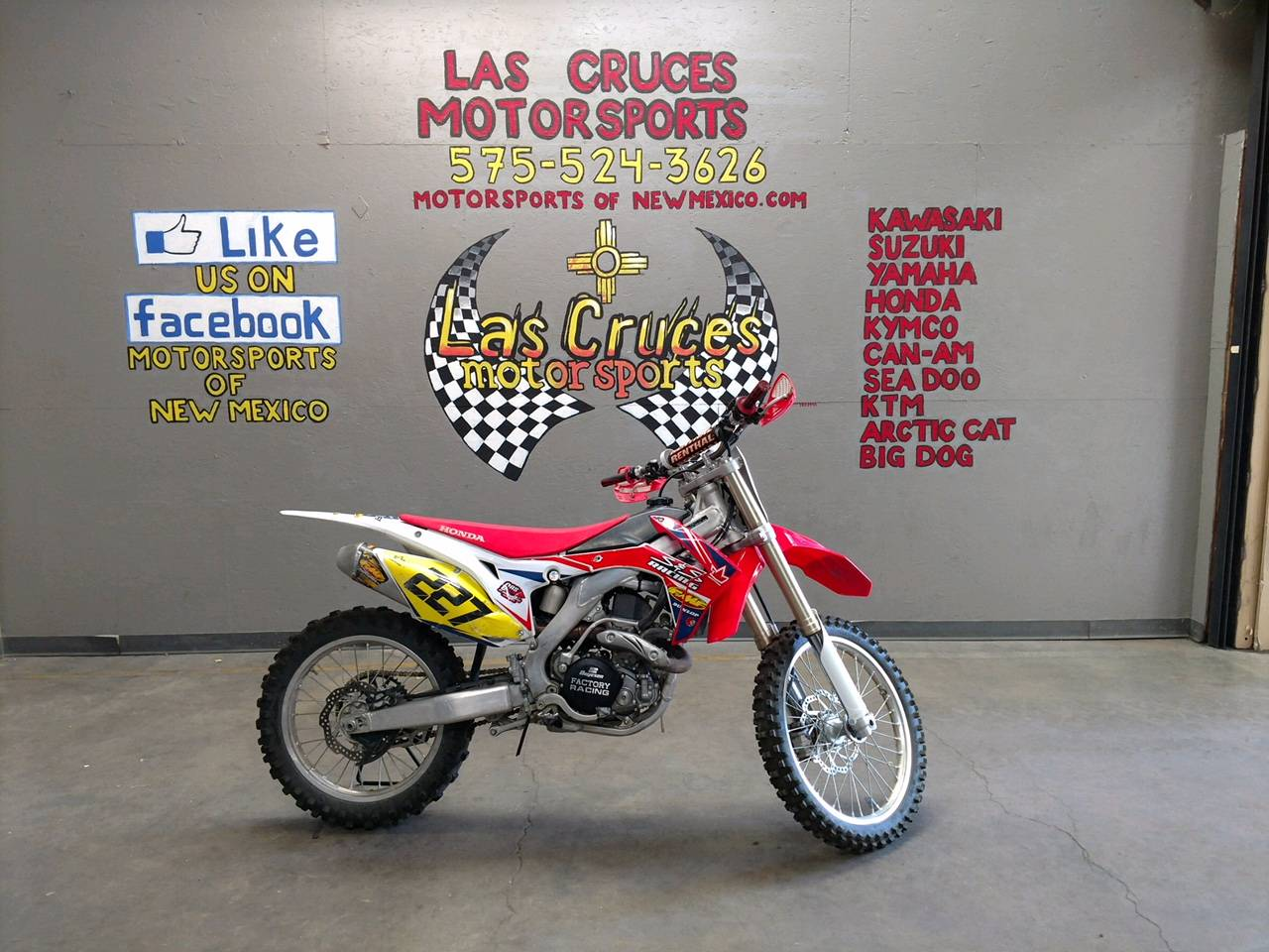 2016 Honda CRF450R in Las Cruces, New Mexico