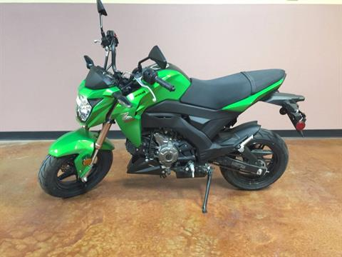 2017 Kawasaki Z125 Pro in Las Cruces, New Mexico