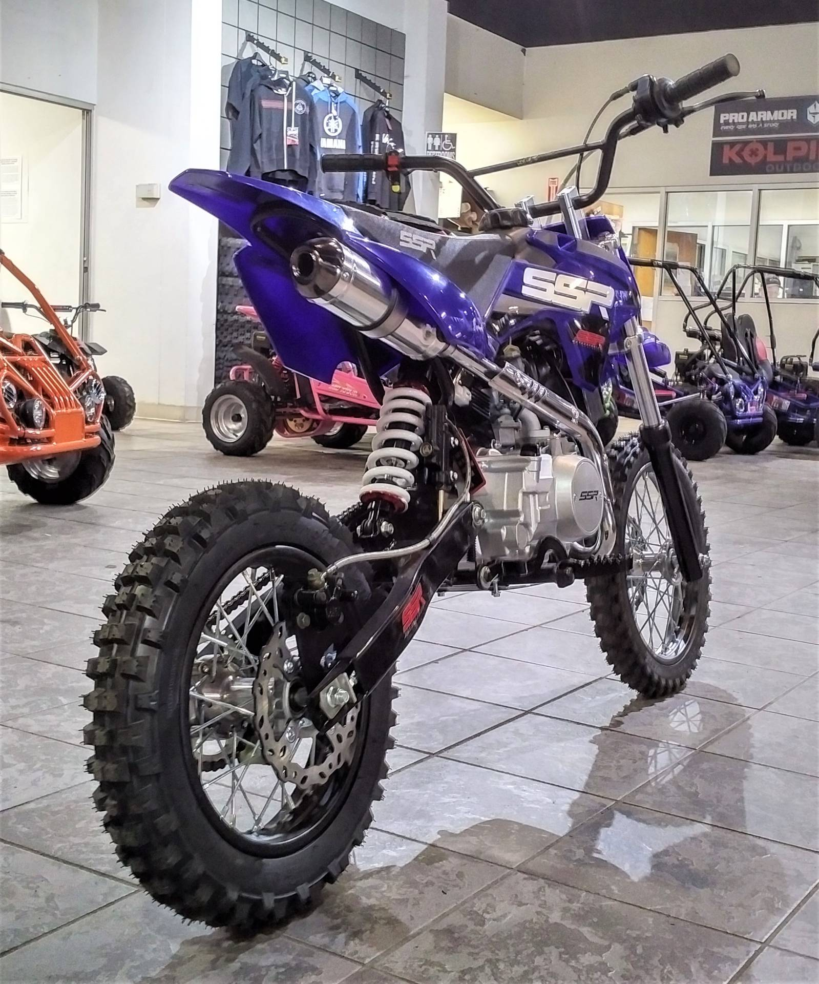 2020 SSR Motorsports SR125 Auto in Salinas, California - Photo 9