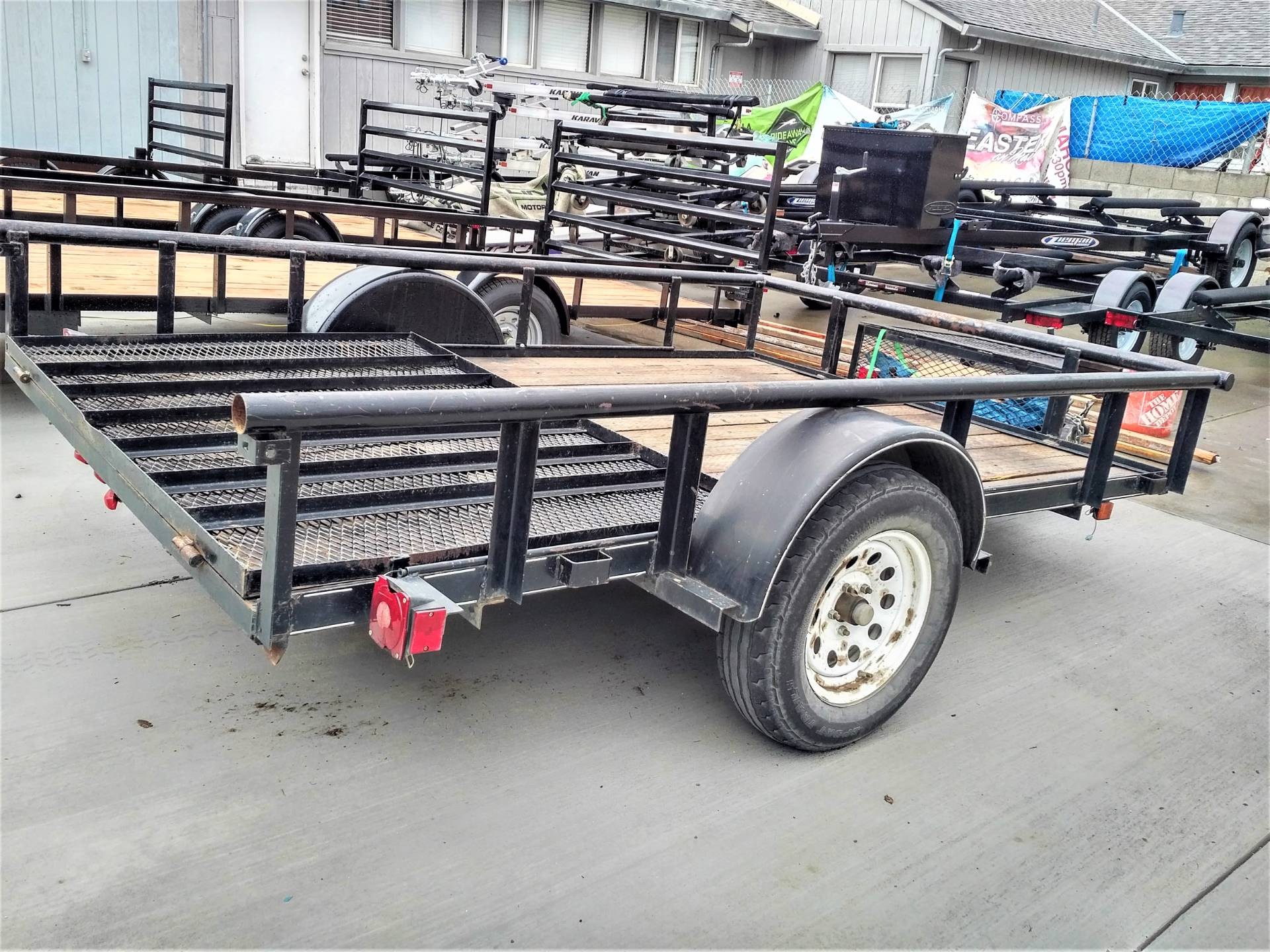 2017 Carry-On Trailers 6X10GW in Salinas, California - Photo 5