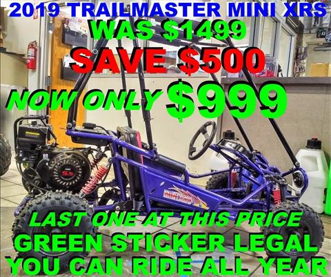 2019 TRAILMASTER MINI XRS+ in Salinas, California