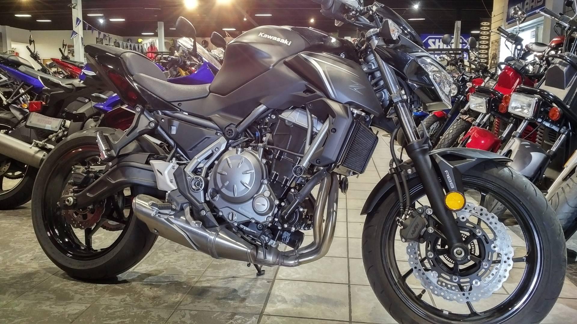 2017 Kawasaki Z650 for sale 135611