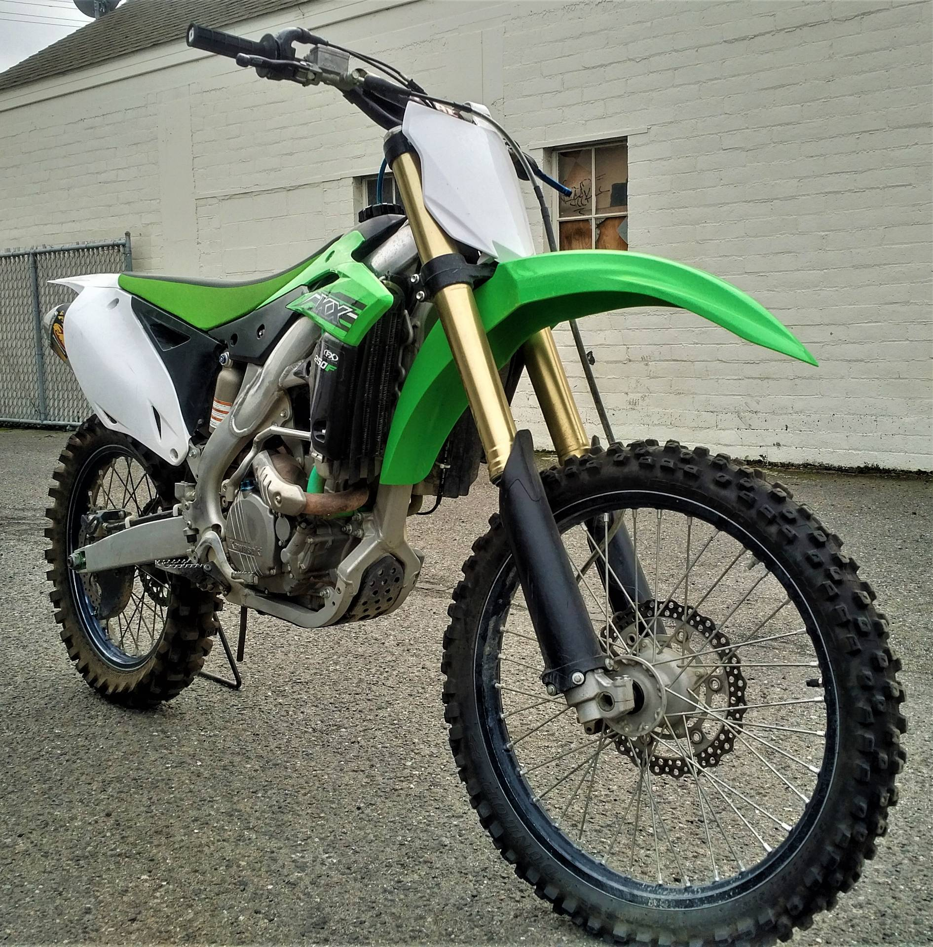 2014 Kawasaki KX250F in Salinas, California - Photo 4