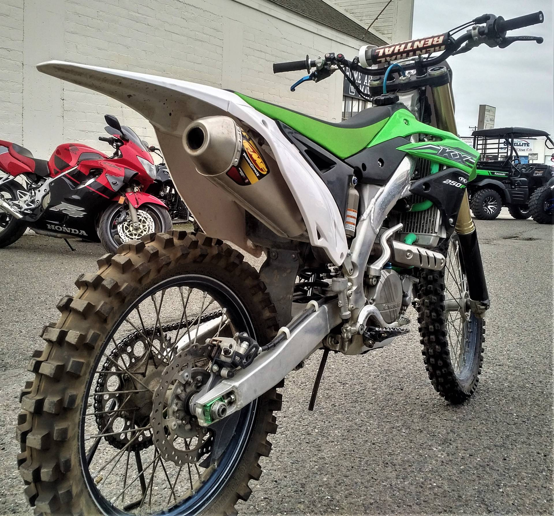 2014 Kawasaki KX250F in Salinas, California - Photo 9