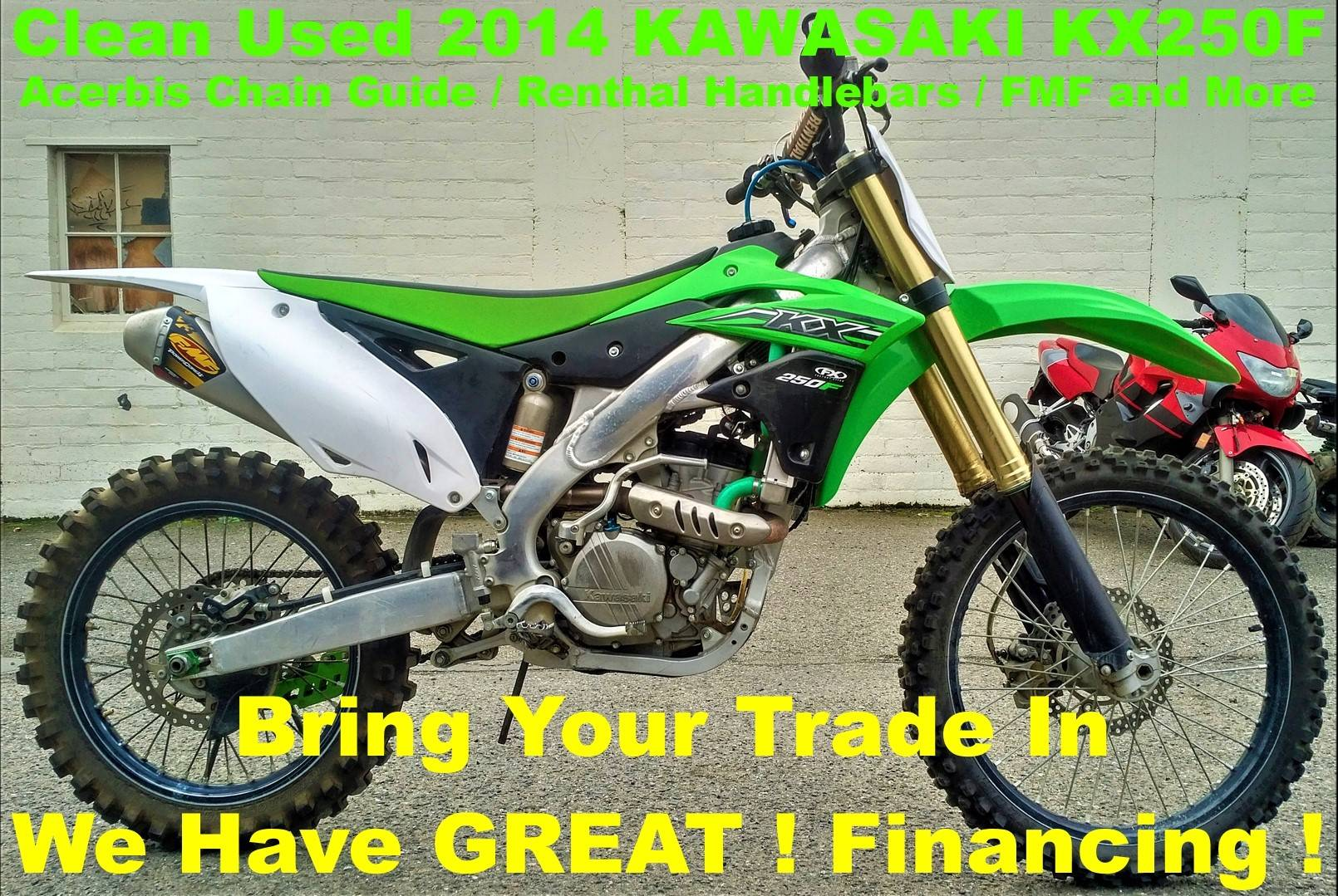 2014 Kawasaki KX250F in Salinas, California - Photo 1