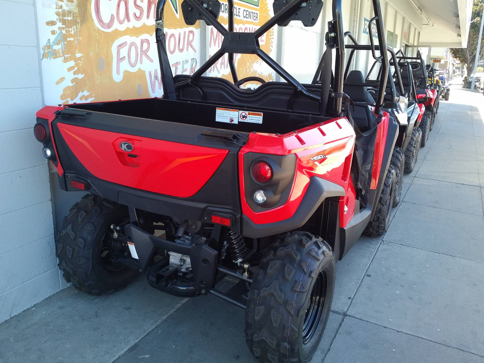 2017 Kymco UXV 450i in Salinas, California