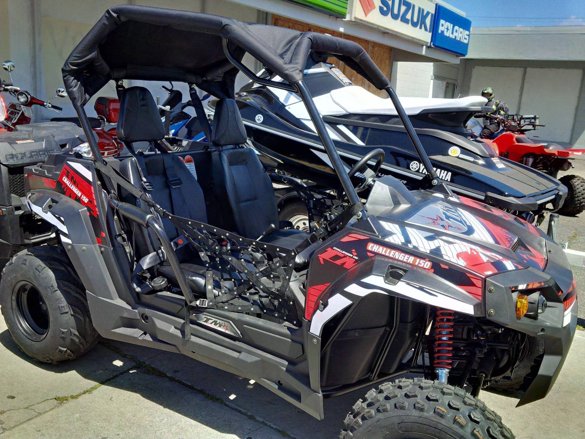 2016 Other TrailMaster Challenger 150 Side X Side UTV in Salinas, California
