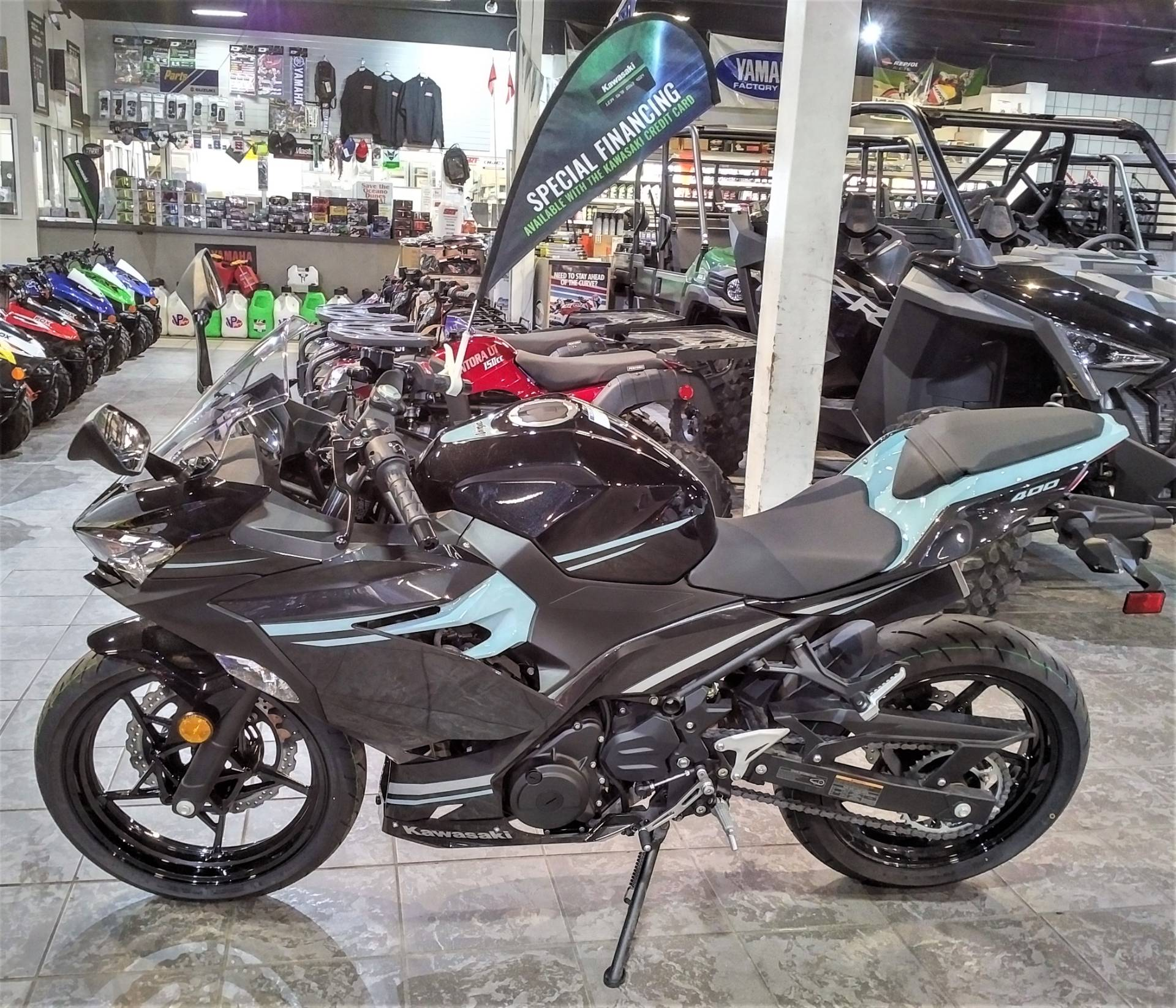 2020 Kawasaki Ninja 400 in Salinas, California - Photo 3