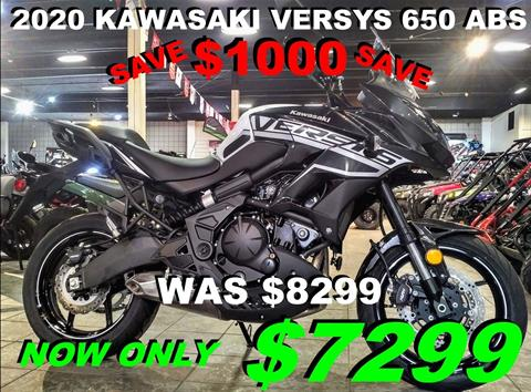 2020 Kawasaki Versys 650 ABS in Salinas, California - Photo 1