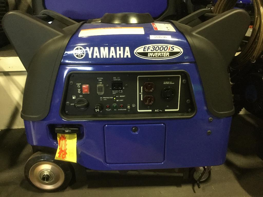 New 2012 yamaha inverter ef3000is power equipment in for Yamaha generator ef3000is