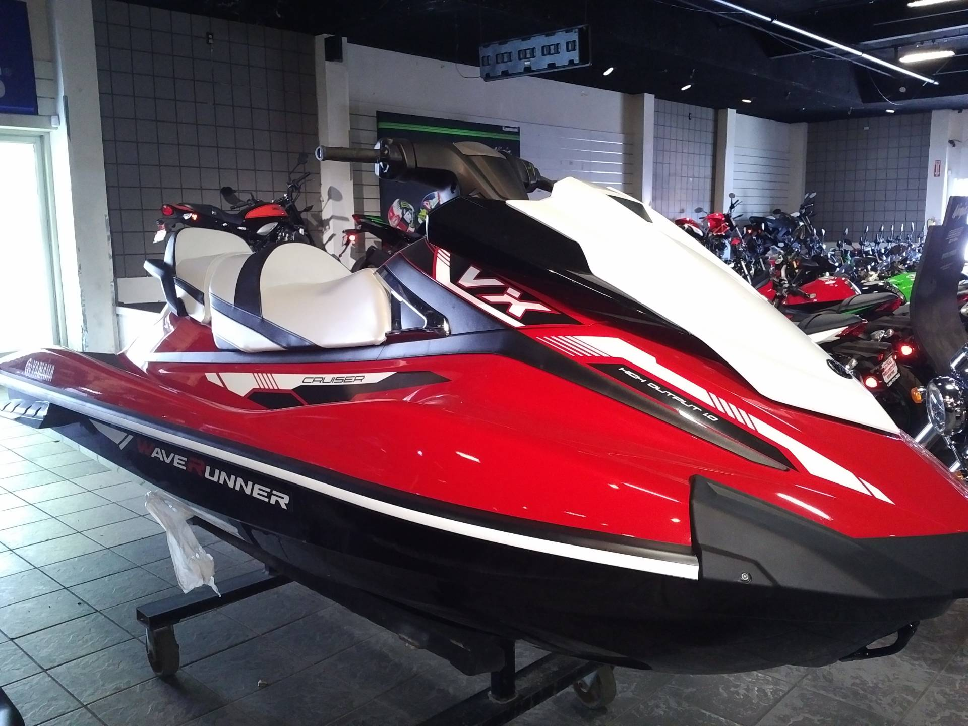 New 2018 yamaha vx cruiser powersports in salinas ca for Yamaha cruiser 2018