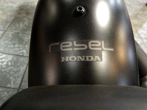 2017 Honda Rebel 300 in Salinas, California - Photo 9