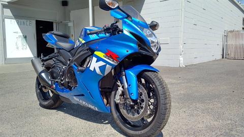 2015 Suzuki GSX-R600 in Salinas, California