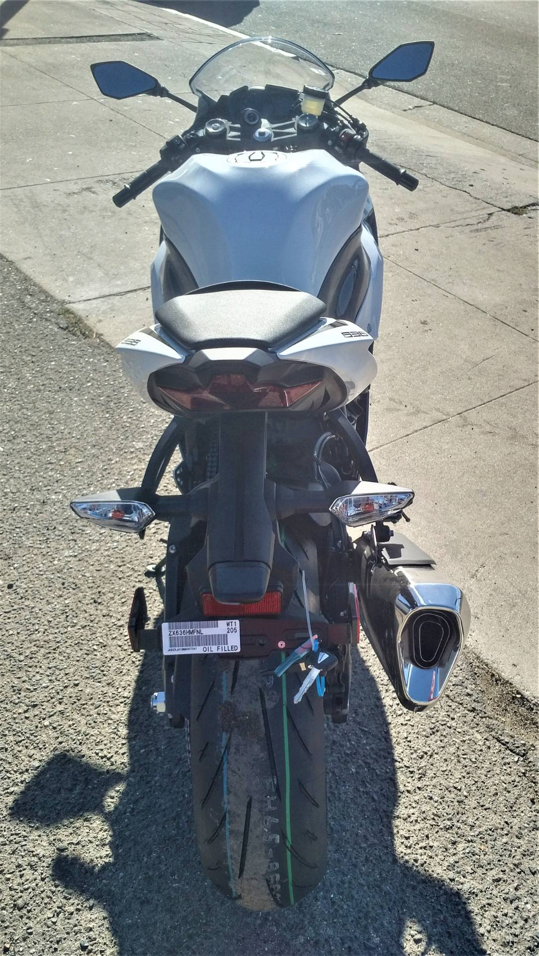 2021 Kawasaki Ninja ZX-6R ABS in Salinas, California - Photo 8