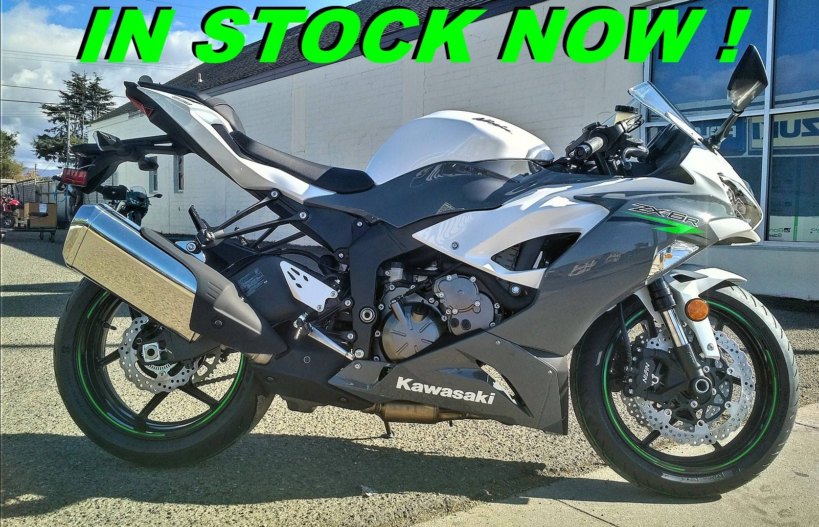 2021 Kawasaki Ninja ZX-6R ABS in Salinas, California - Photo 1