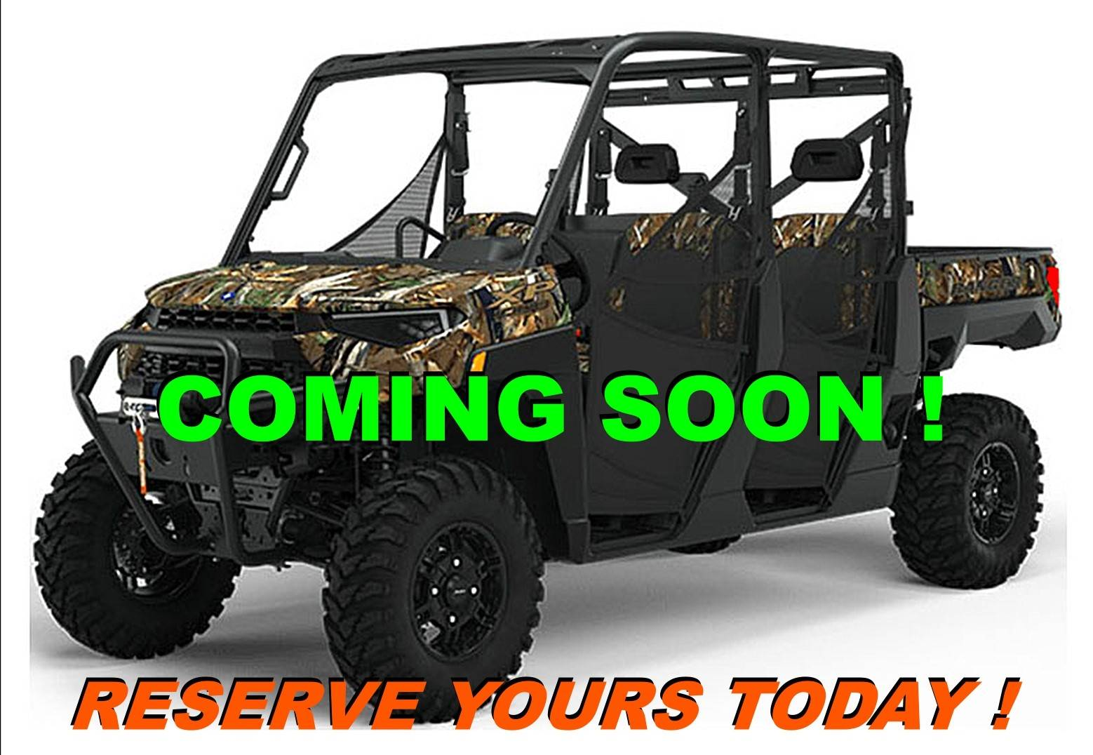2021 Polaris Ranger Crew XP 1000 Big Game Edition in Salinas, California - Photo 1