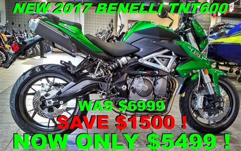 2017 Benelli TNT600 in Salinas, California - Photo 1